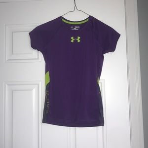 Dry fit short sleeve shirt.